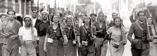 Milices pendant la guerre d'espagne