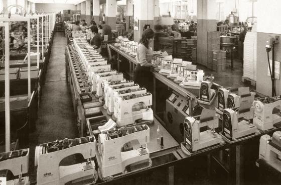 Productionn machine