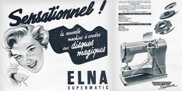 Machine Elna suprematic