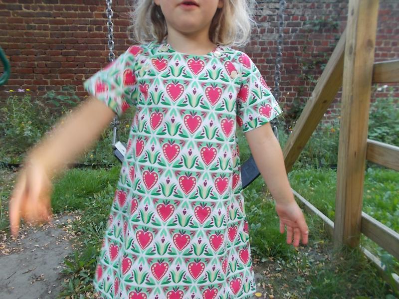 Robe d'été facile à coudre pour fille Livia