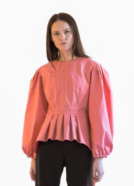 blouse manches plissées de Trend patterns