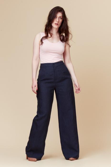 Patron pantalon large Nacisse