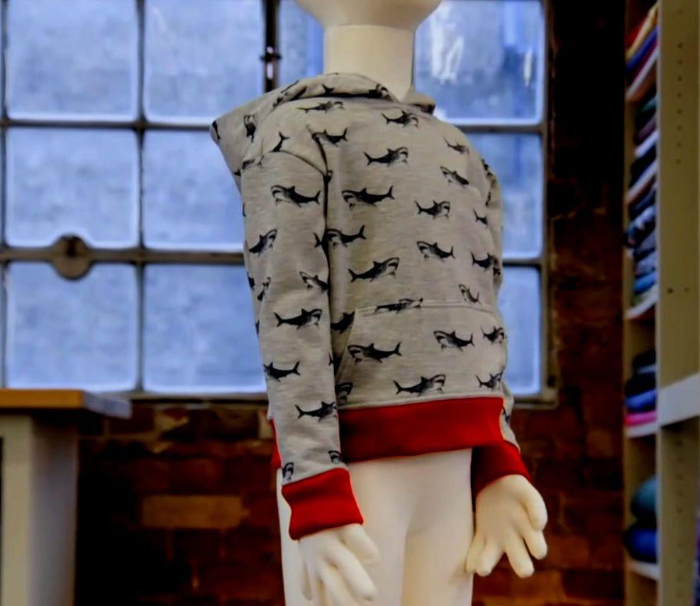 Patron de couture enfant réalisé par Leah