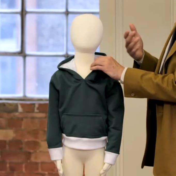 Patron de couture enfant réalisé par alexei