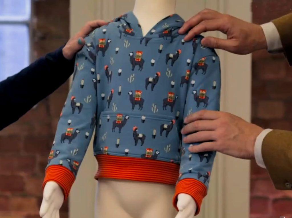 Patron de couture enfant réalisé par Ben