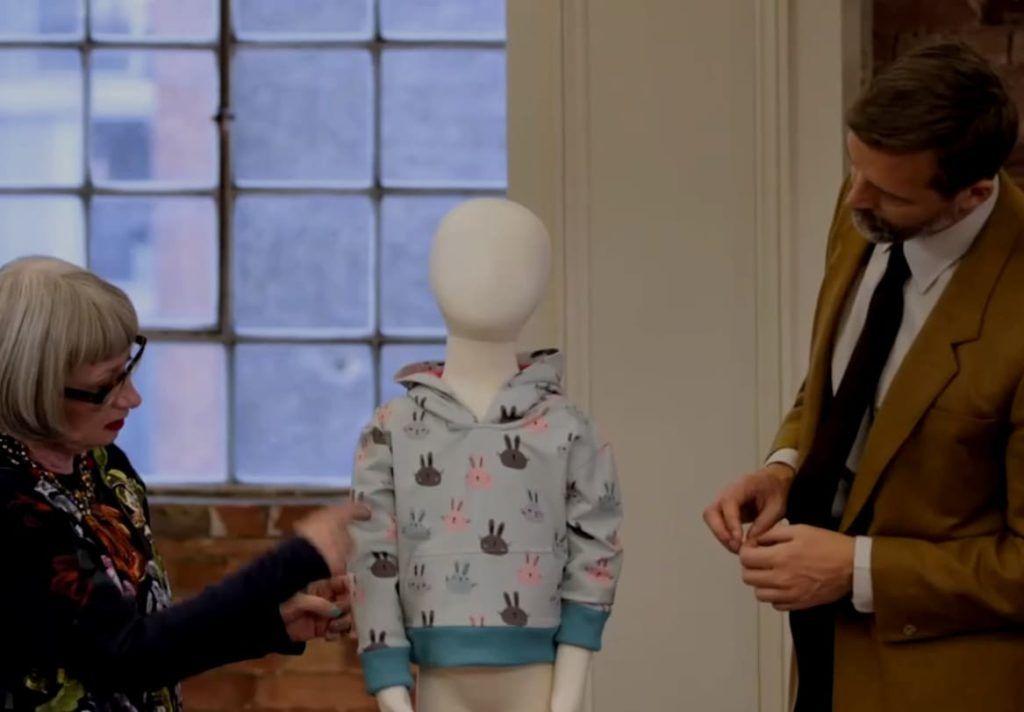 Patron de couture enfant réalisé par Janet