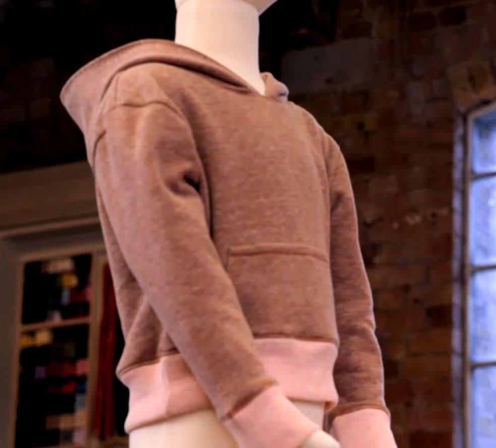 Patron de couture enfant réalisé par mercedes