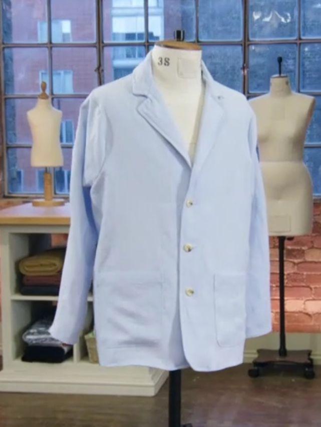 Great british sewing bee veste de travail de Leah