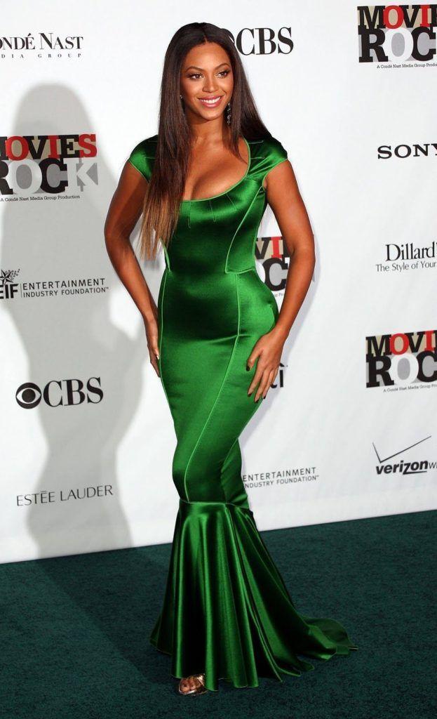 Oui oui, Beyonce est bien un tiangle et non un 8 !
