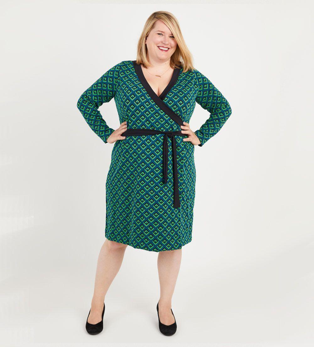 robe grande taille Appleton de Cashmerette