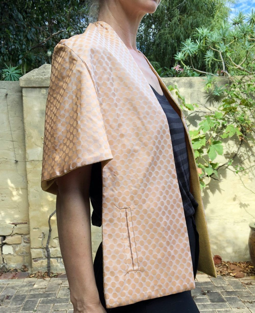 patron couture capelette beverley de pattern union