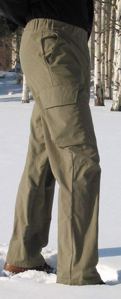 Patron de couture pour homme Pantalon cargo de Shelby