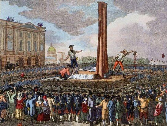 L'exécution de Louis 16