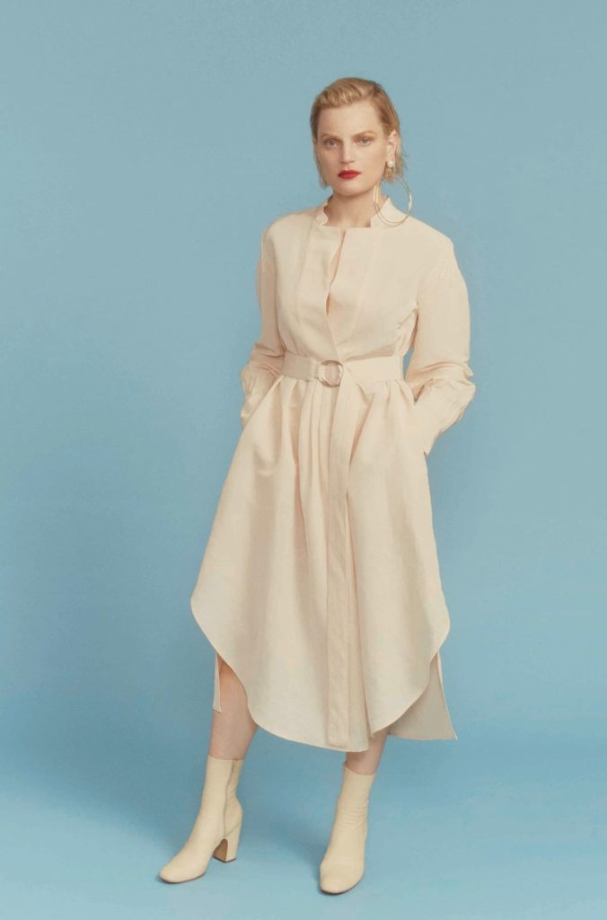 Robe forme semi fit and flare