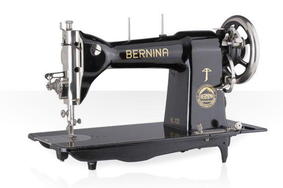 Machine Bernina 105 créée en 1932