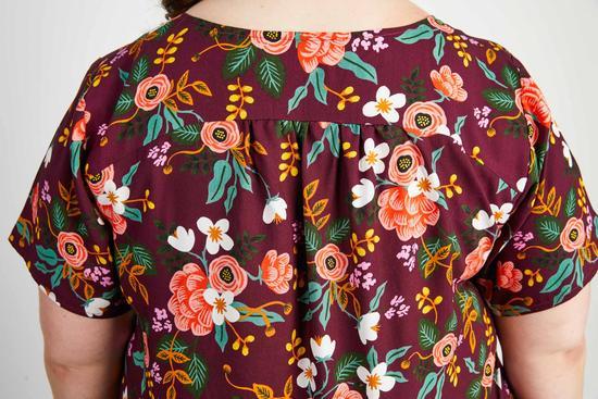 Dos du tshirt Montrose de Cashmerette