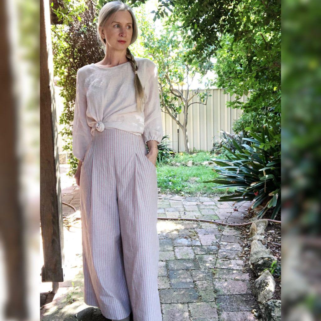 Jupe culotte Hannah de Pattern Union beige
