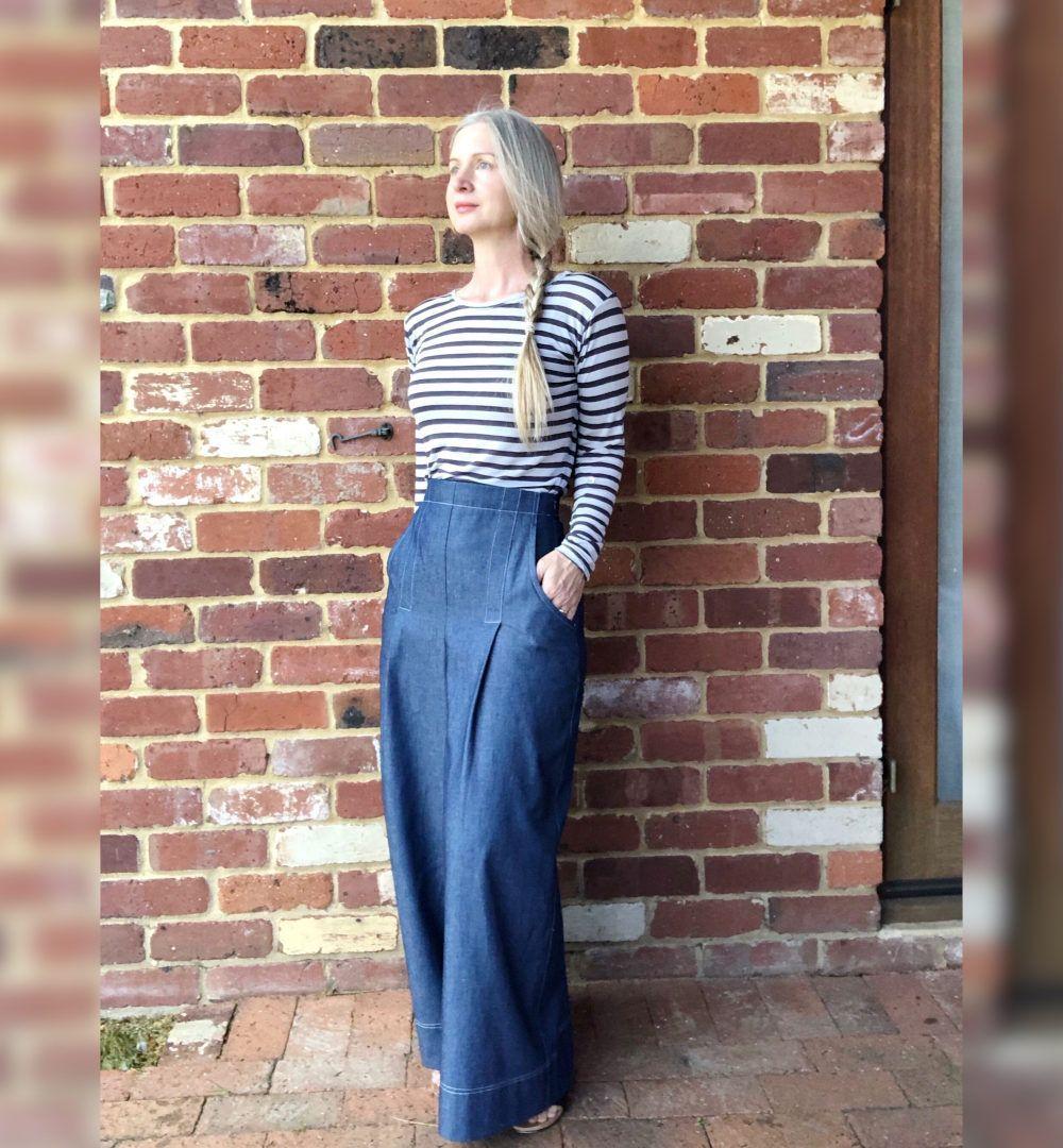 Jupe culotte Hannah de Pattern Union jean