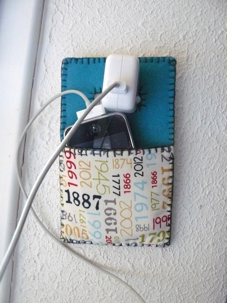 Pochette pour recharger smartphone