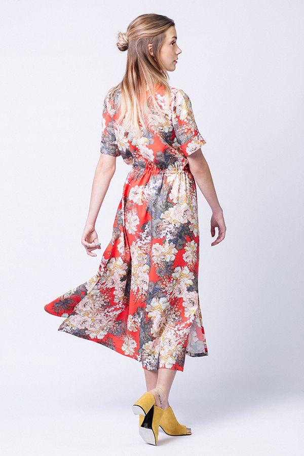 patron robe Reeta de named clothing vue de dos