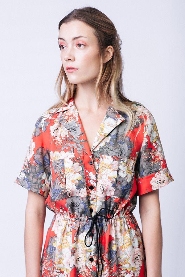 Encolure robe Reeta de named clothing