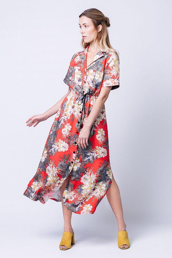 Patron couture Reeta de Named clothing en voile de coton