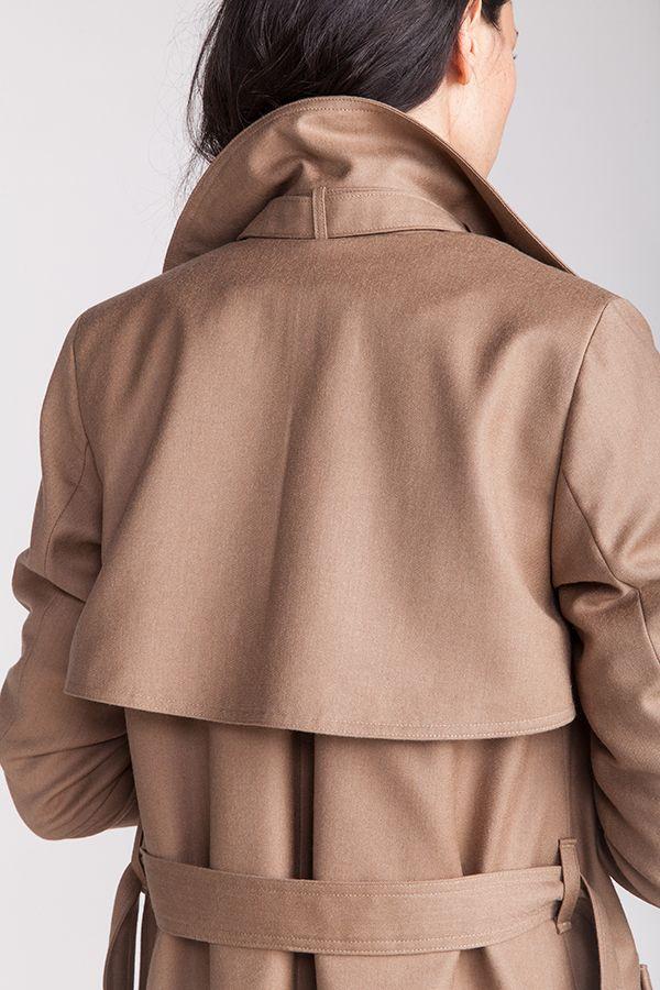 patron couture named Isla détail de dos