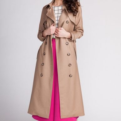 patron couture trench Isla ouvert