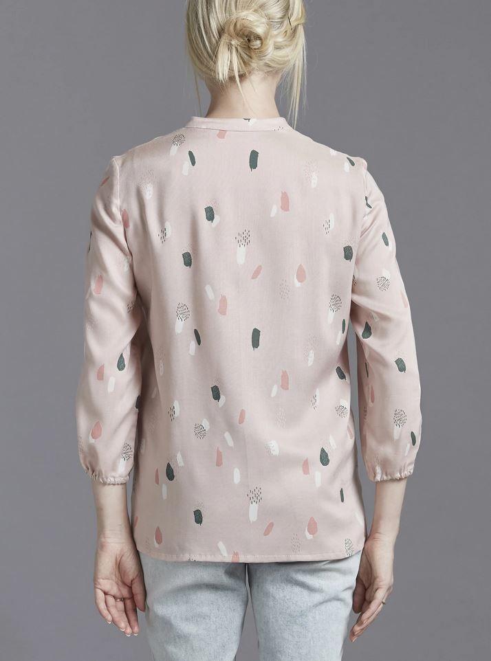 Patron couture La blouse vu de dos