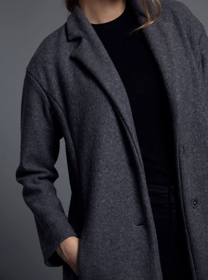 col du manteau the avid seamstress ouvert