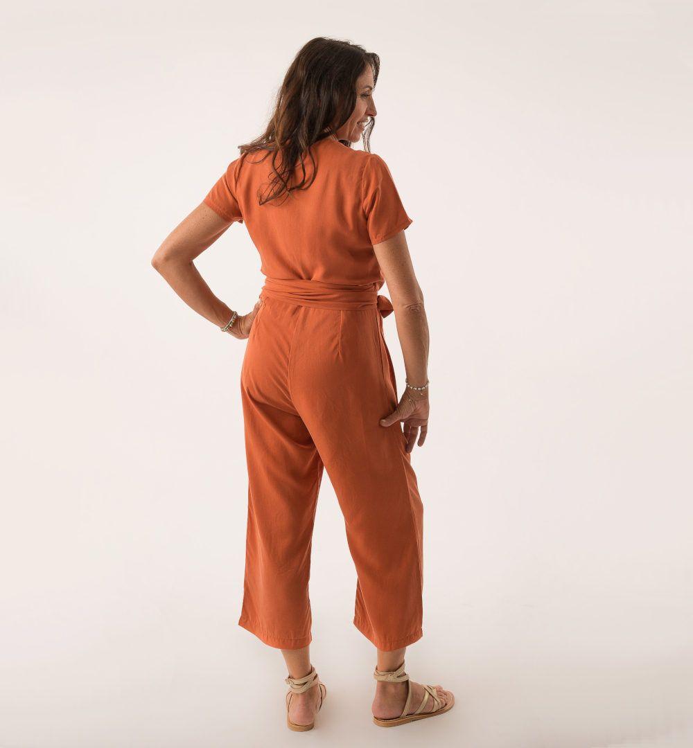 combinaison pantalon mina vue de dos
