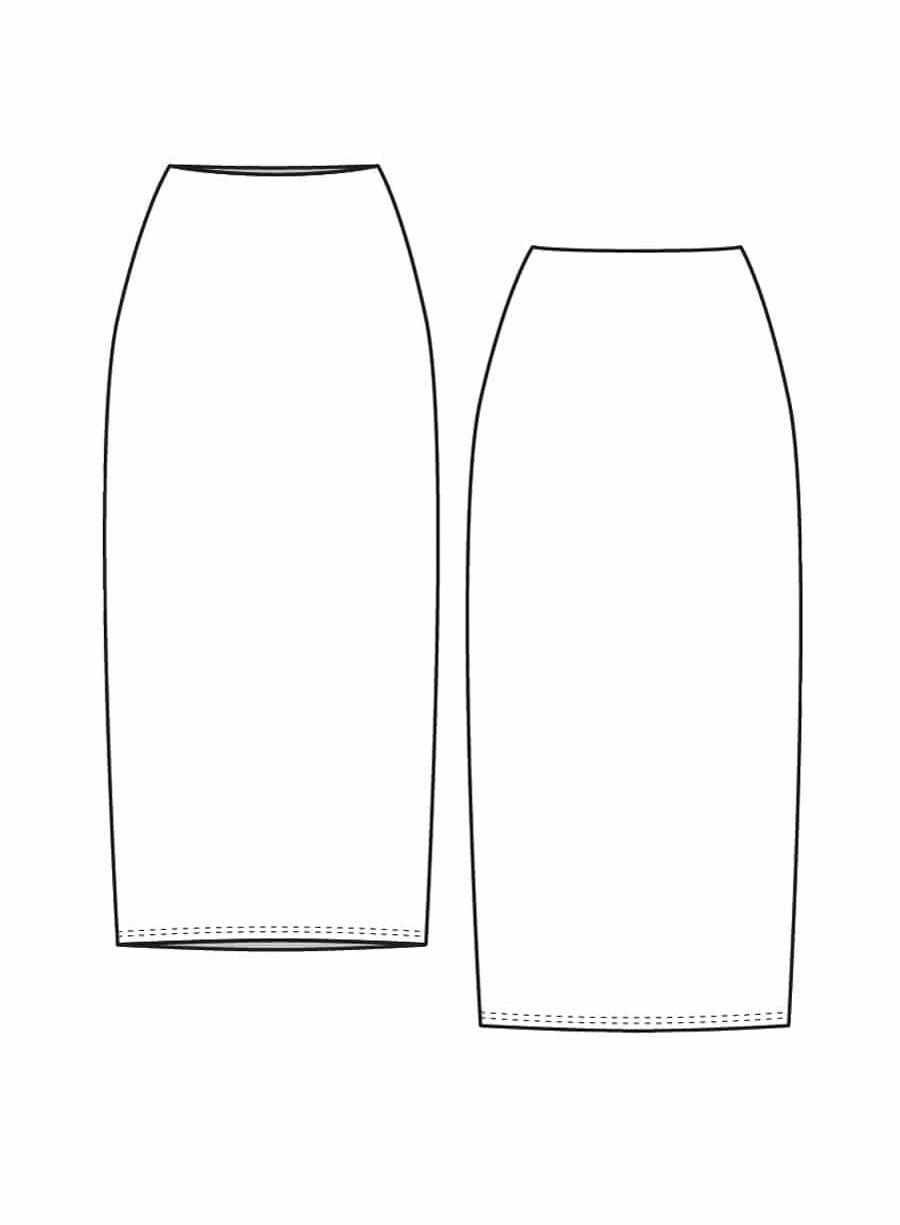 patron couture lenaline jupe anna dessin technique