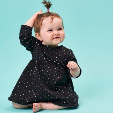 patron couture bébé robe pansy